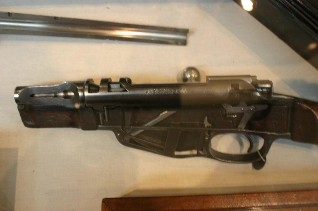Cut away weapons Dutch Mannlicher rifle   GunLab (KnownHost)