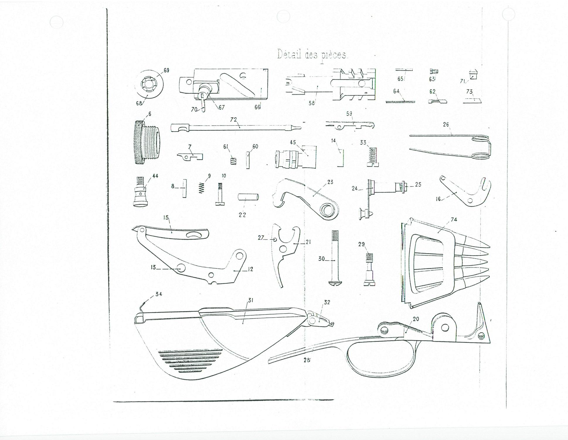 Gunlab Part 19 Taurus 25 Acp Schematic Picture 1 Small